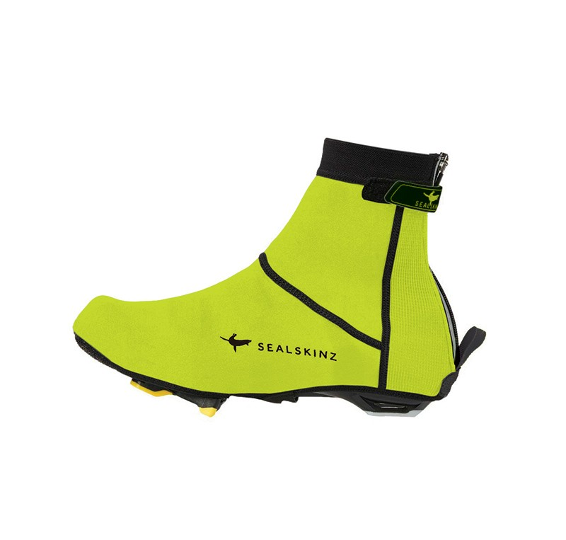 SEALSKINZ OPEN SOLE NEOPRENE OVERSHOES  JAUNE FLUO Couvre chaussures imperméable