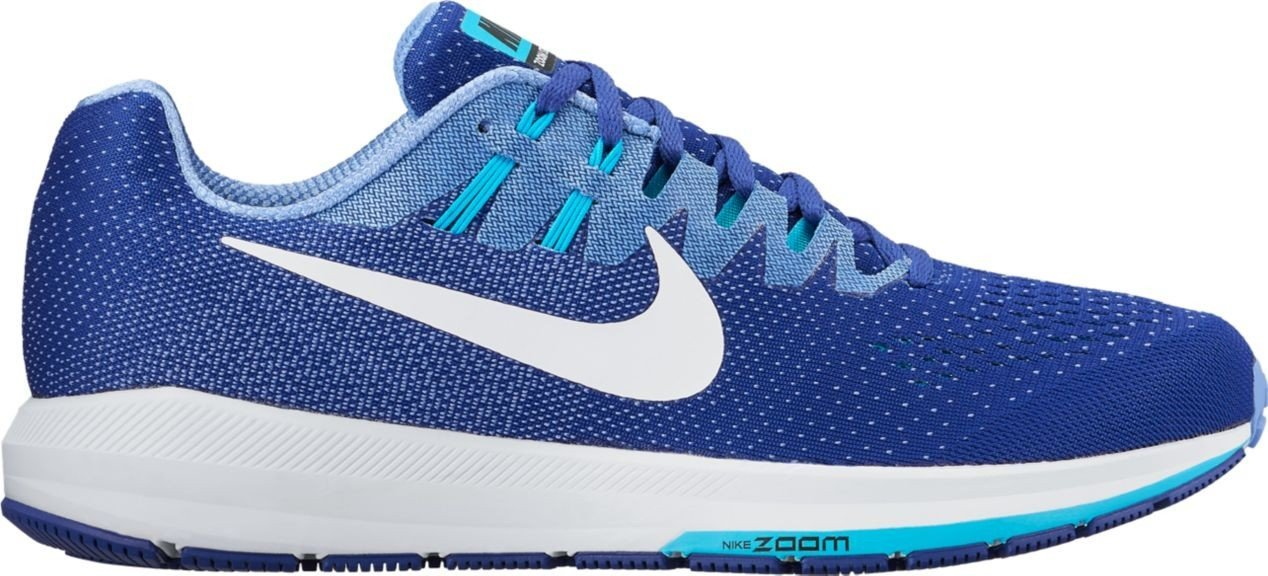 NIKE AIR ZOOM STRUCTURE 20 BLEUE  chaussure Nike