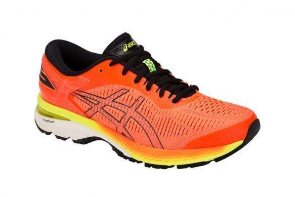 ASICS GEL KAYANO 25 ORANGE FLUO Chaussure de running asics