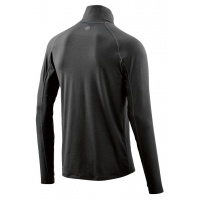 SKINS ACTIVEWEAR UNDEN LIGHT MIDLAYER CHARCOAL Seconde couche pas cher