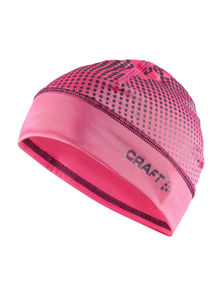 CRAFT BONNET IMPRIME LIVIGNO ROSE  Bonnet sport