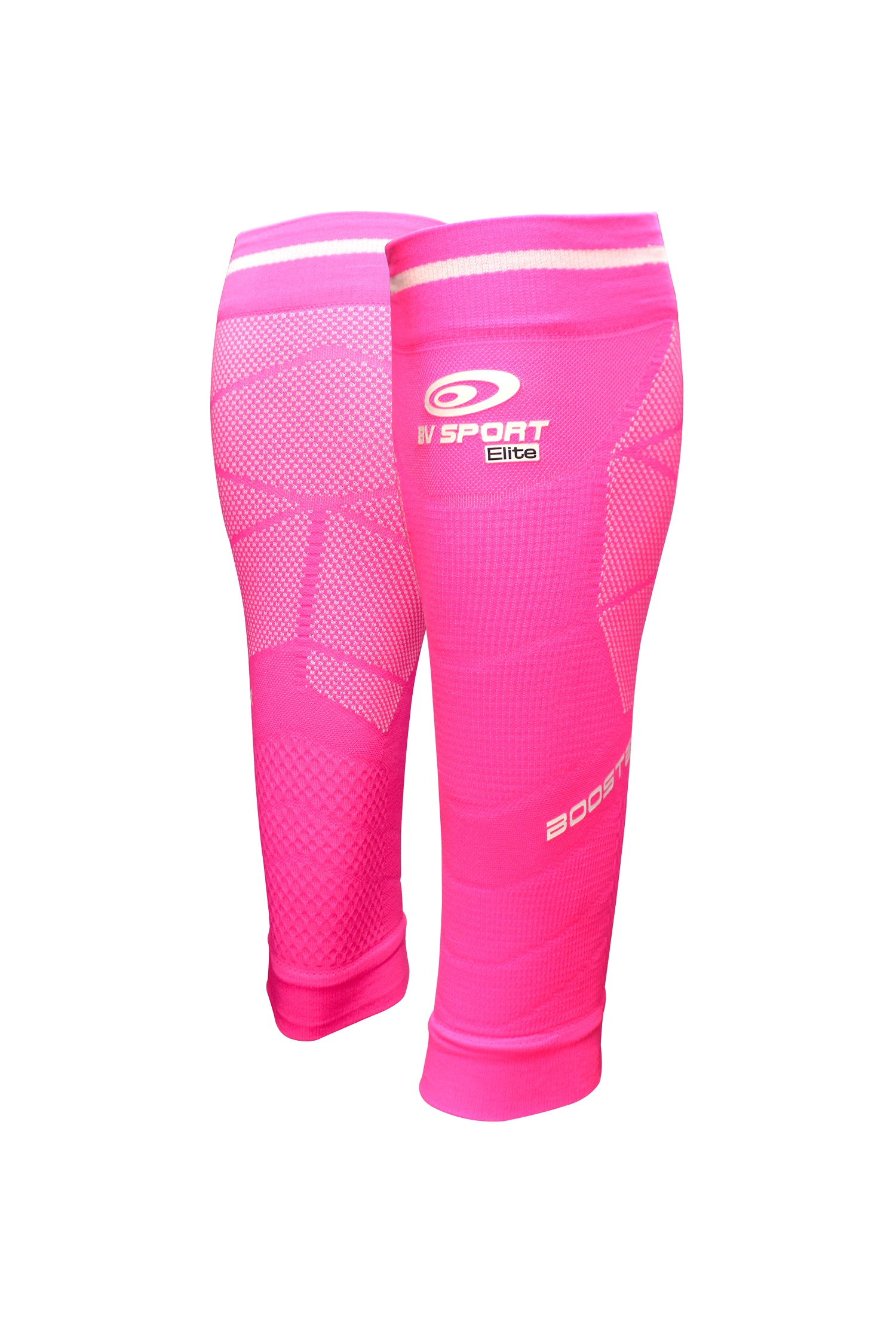 BV SPORT BOOSTER ELITE EVO2 ROSE Manchons de compression