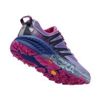 HOKA ONE ONE  SPEEDGOAT 3 PAISLEY  PURPLE  Chaussures de trail femme pas cher