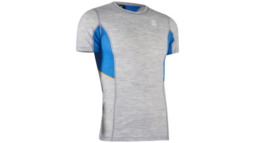 DAEHLIE TRAINING WOOL SUMMER TEE SHIRT GRIS  tee shirt running