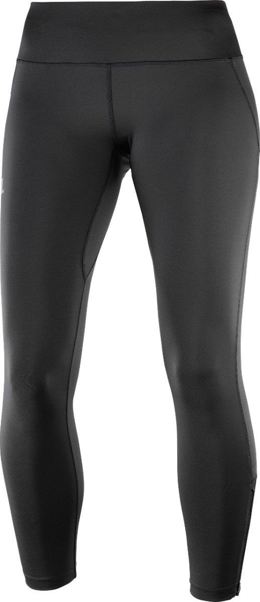 SALOMON AGILE LONG TIGHT W NOIR Collant running femme