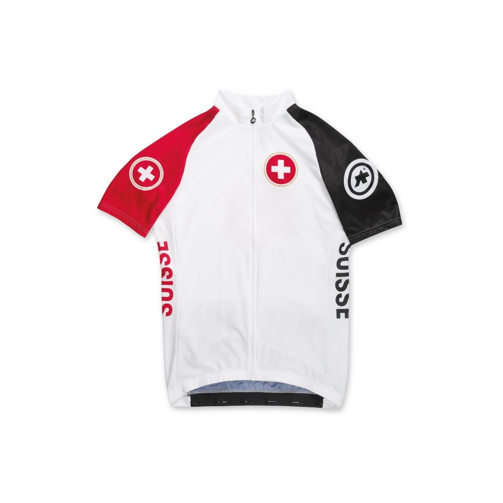 ASSOS SS SUISSE RIO JERSEY Maillot vélo