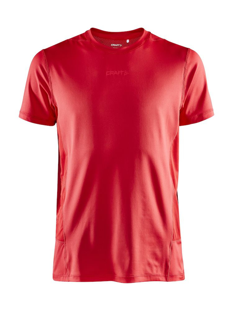 CRAFT ESSENCE ADV TEE SHIRT ROUGE  Tee Shirt homme