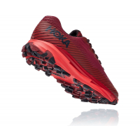 HOKA ONE ONE TORRENT  2 ROUGE   Chaussures de Trail pas cher
