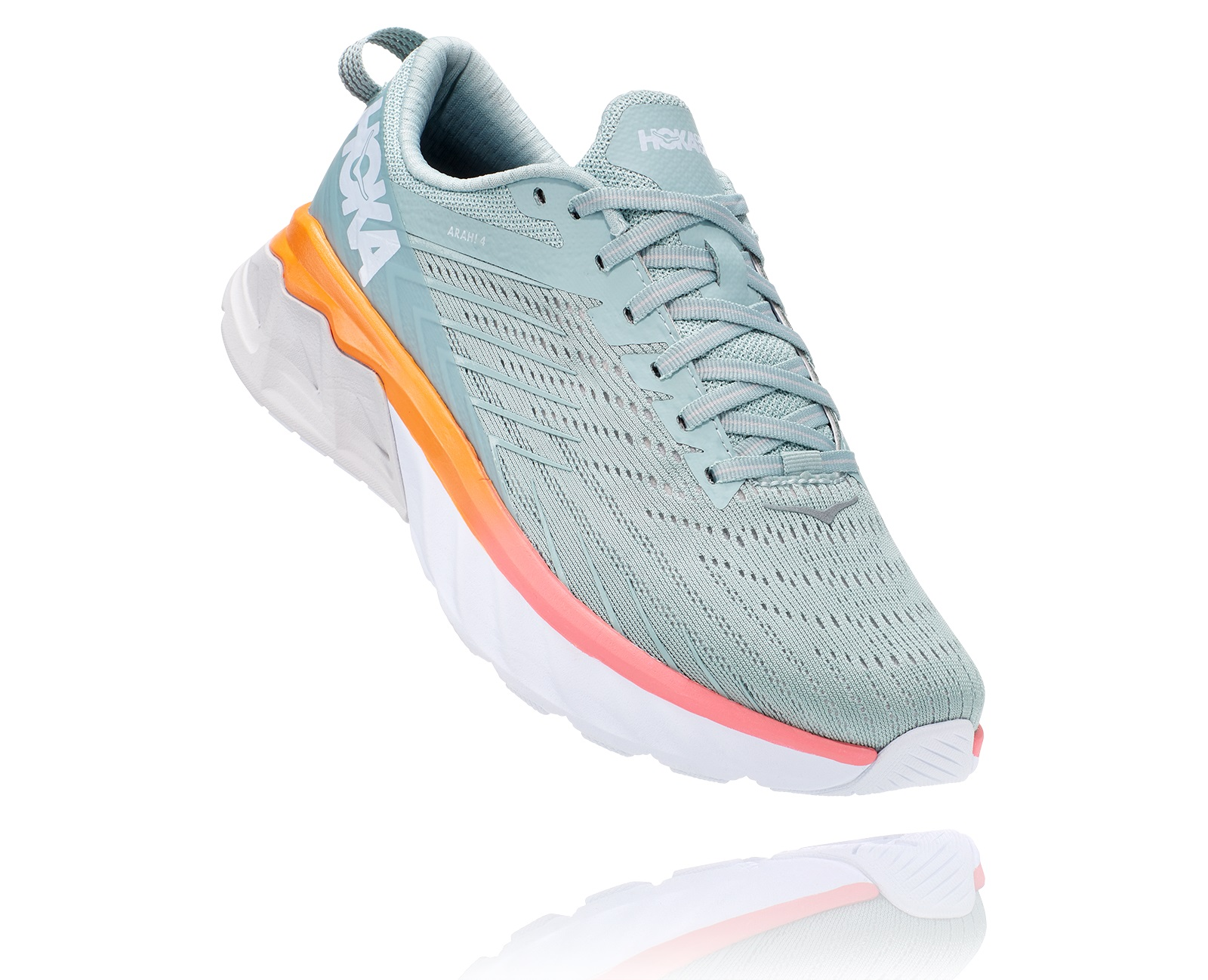 HOKA ONE ONE ARAHI 4 BLUE HAZE Chaussures de running