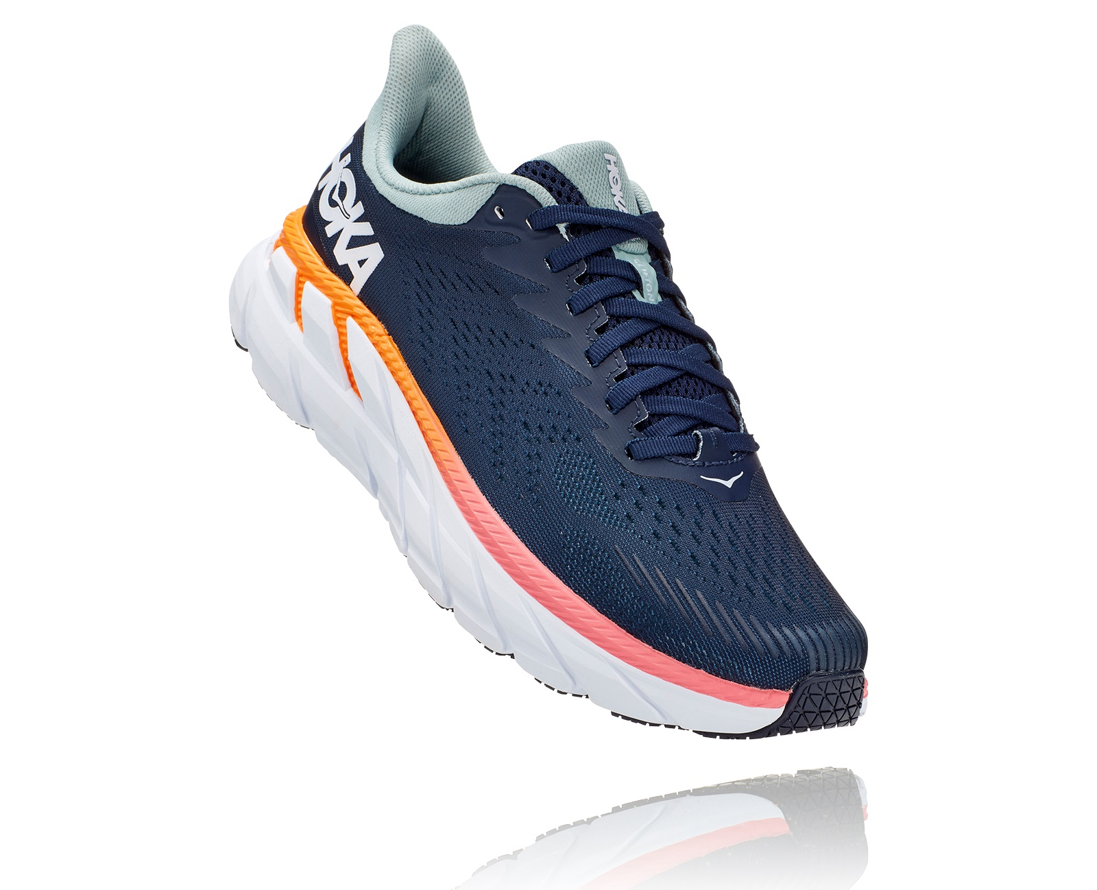 HOKA ONE ONE CLIFTON 7 BLUE HAZE  Chaussures de running