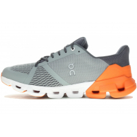 ON RUNNING CLOUDFLYER GRISE ET ORANGE  Chaussures de running pas cher