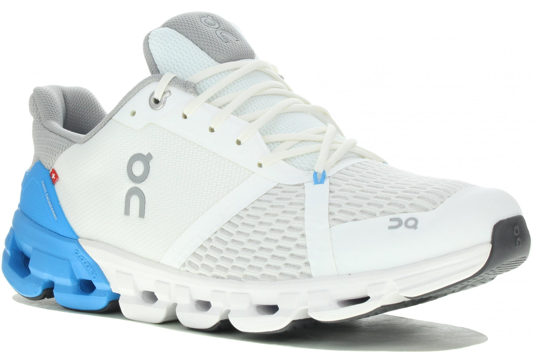 ON RUNNING CLOUDFLYER BLANCHE ET BLEUE  Chaussures de running