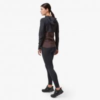 ON RUNNING WEATHER JACKET W BLACK PEBBLE pas cher