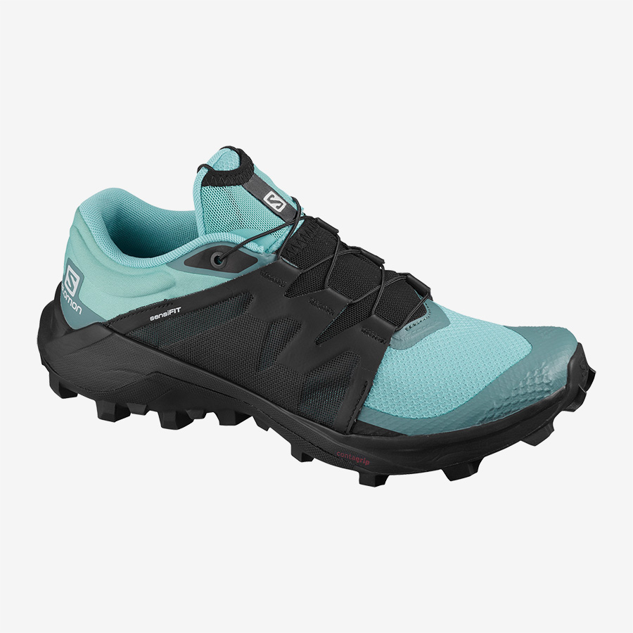 SALOMON WILDCROSS MEADBROOK BLACK NORTH ATHLANTIC  Chaussures trail salomon
