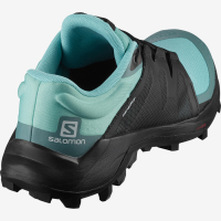 SALOMON WILDCROSS MEADBROOK BLACK NORTH ATHLANTIC  Chaussures trail salomon pas cher