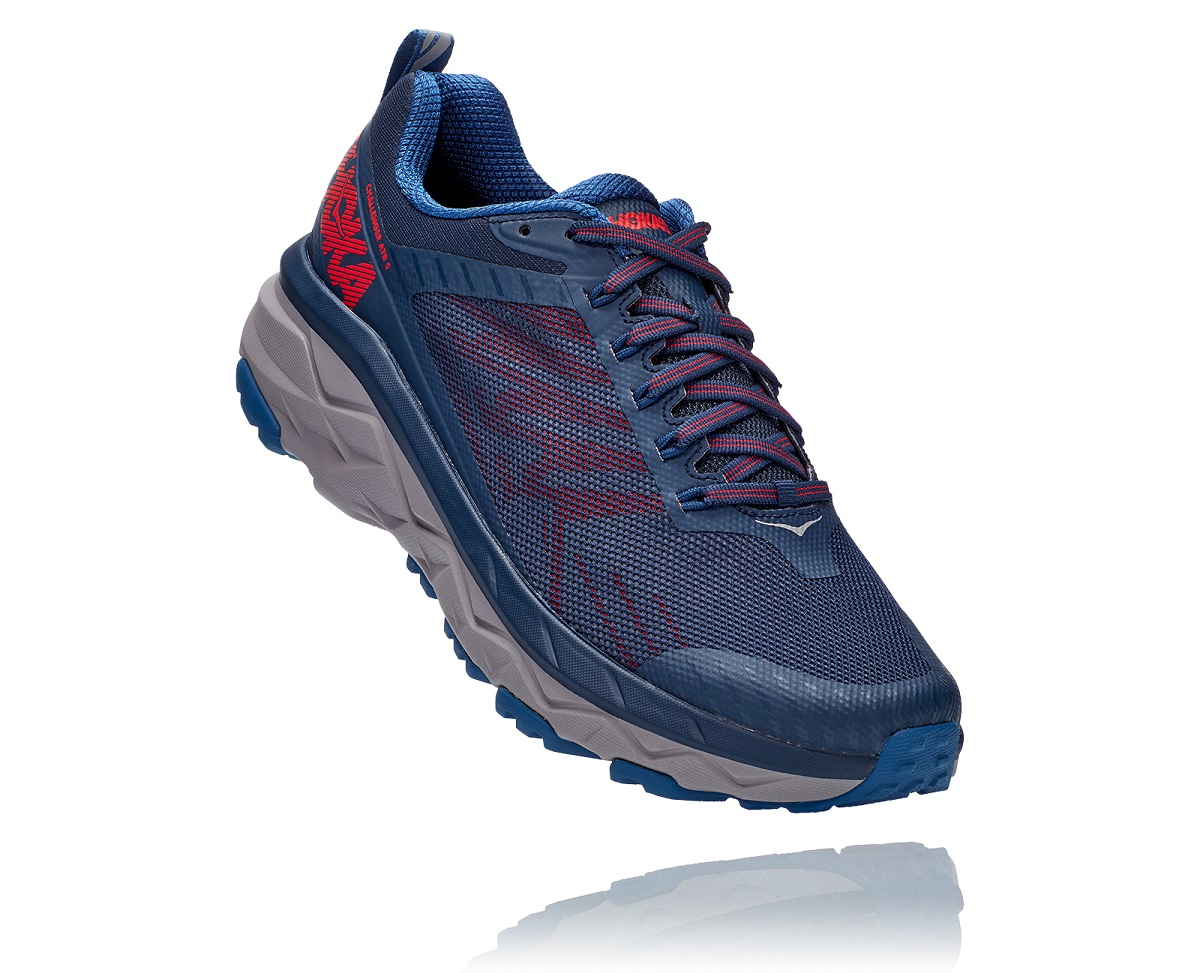 HOKA ONE ONE CHALLENGER ATR 5 DARK BLUE Chaussures de Trail