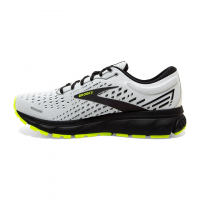 BROOKS GHOST 13  BLANCHE ET NIGHTLIFE Chaussures de running pas cher
