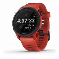 GARMIN FORERUNNER 745 ROUGE MAGMA Montre cardio GPS pas cher