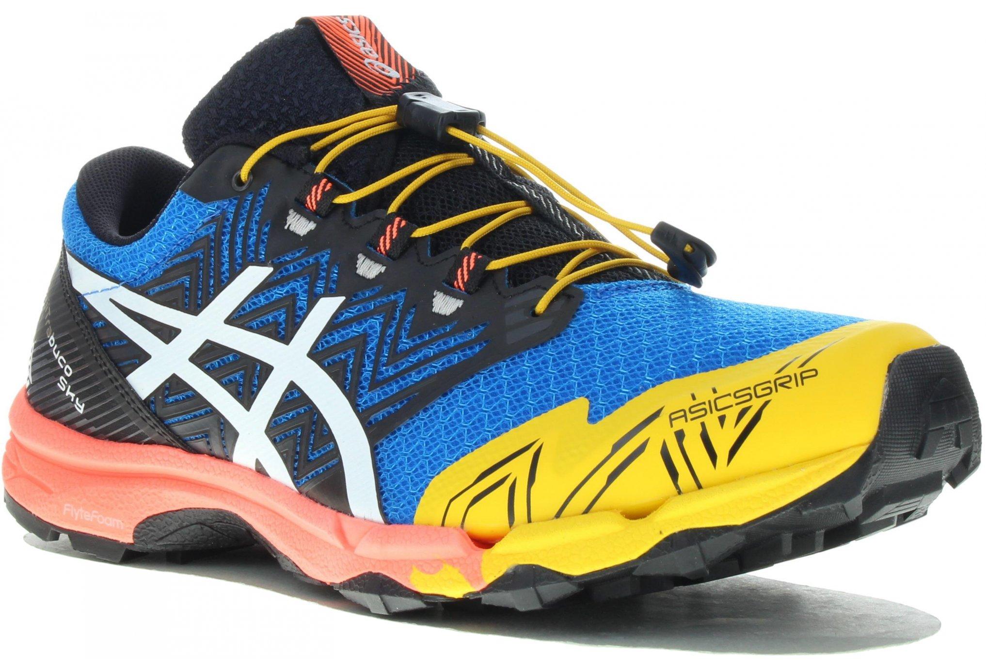 ASICS GEL FUJI TRABUCO SKY BLEUE Chaussures de trail