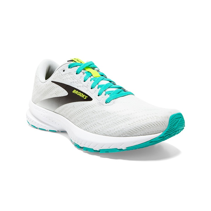 BROOKS LAUNCH 7 BLANCHE ET NIGHTLIFE  Chaussures de running brooks