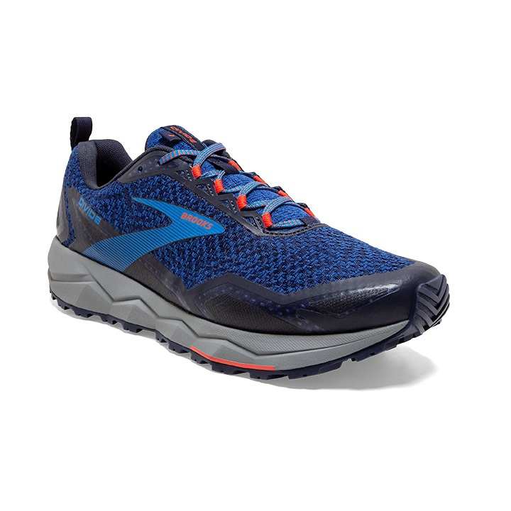 BROOKS DIVIDE BLUE NAVY   Chaussures de trail