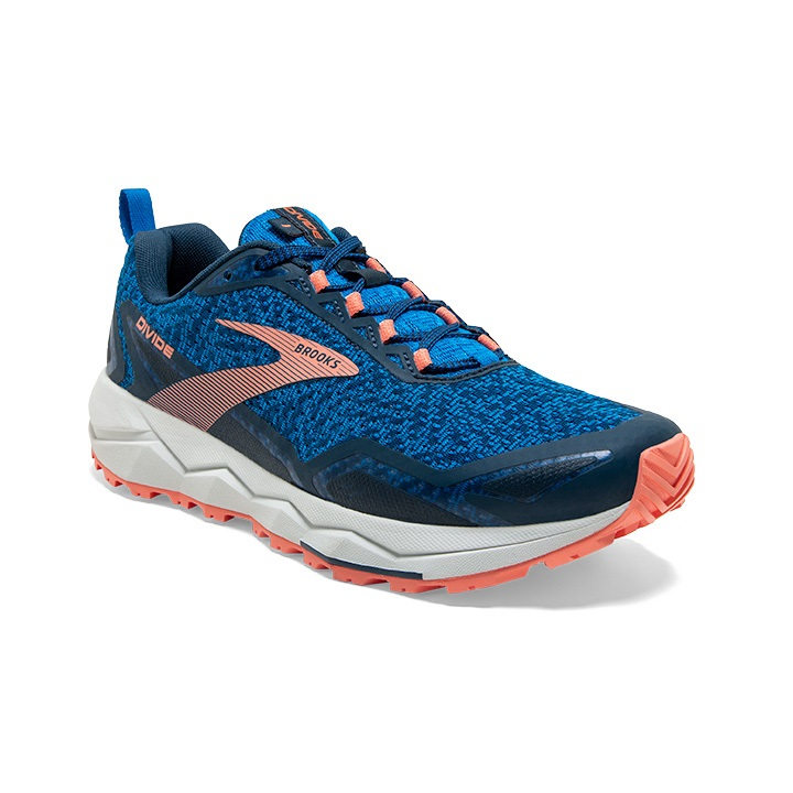 BROOKS DIVIDE BLUE DESERT   Chaussures de trail