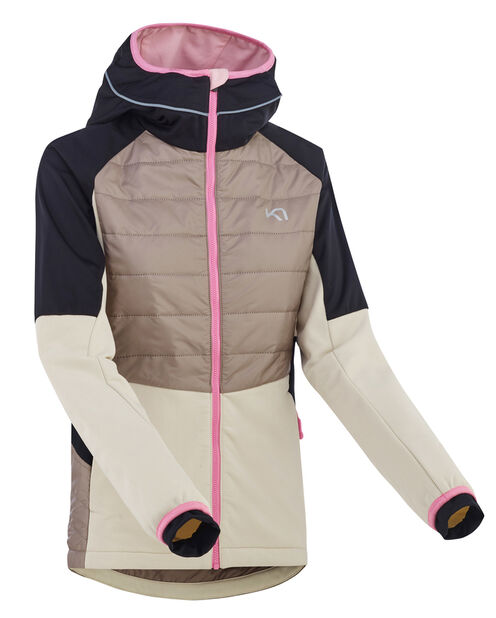 KARI TRAA TIRILL JACKET CLAY   Veste running