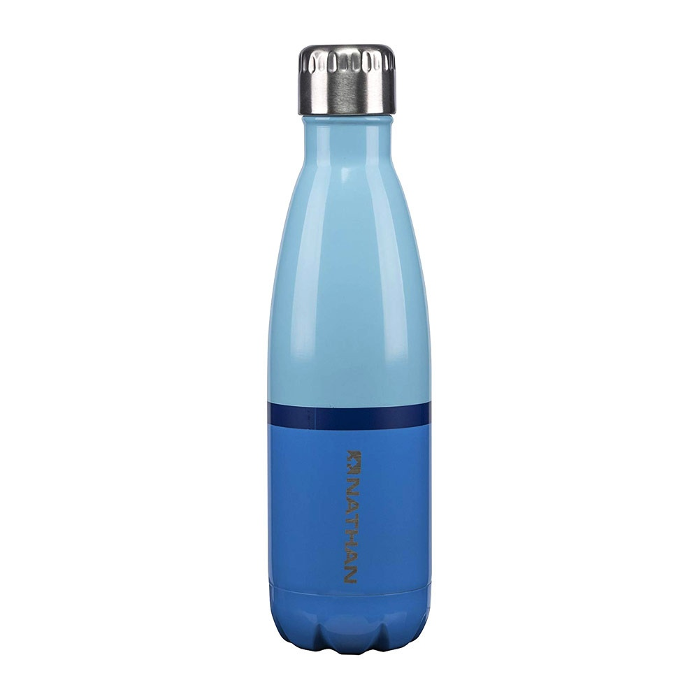 NATHAN BOUTEILLE ISOTHERME 500ML CHROME BLUE