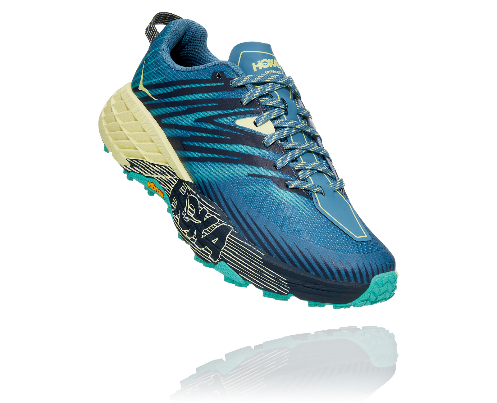 HOKA ONE ONE  SPEEDGOAT 4 PROVINCIAL BLUE Chaussures de trail