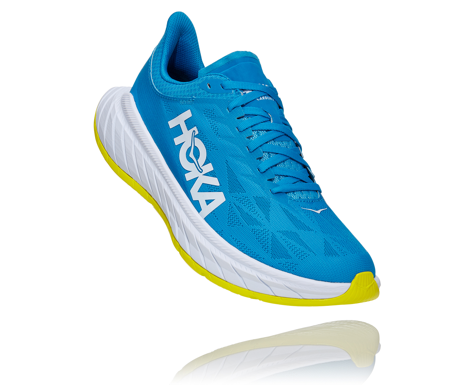 HOKA ONE ONE CARBON X 2 BLEUE Chaussures de running