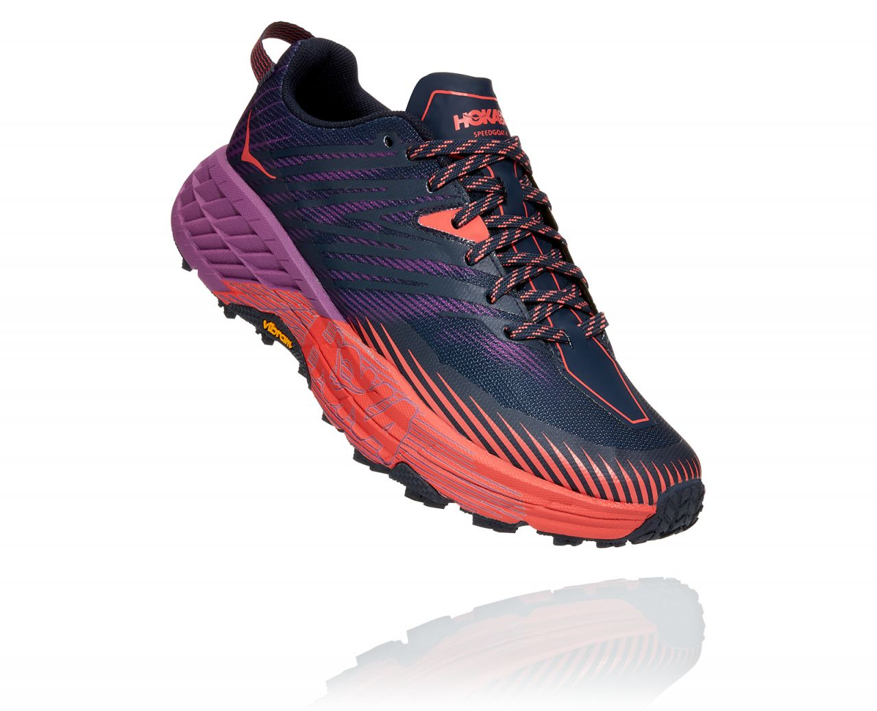 HOKA ONE ONE  SPEEDGOAT 4 VIOLETTE Chaussures de trail