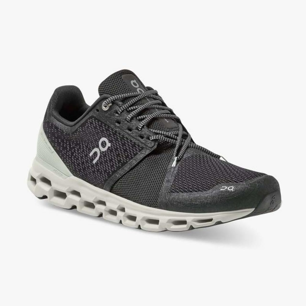 ON RUNNING CLOUD STRATUS BLACK MINERAL  Chaussures de running