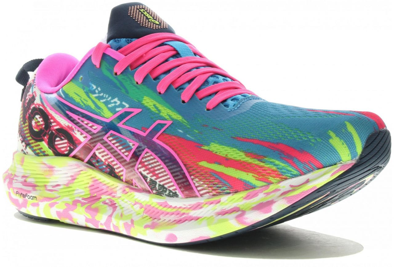 ASICS  NOOSA  TRI 13 HOT PINK  Chaussures running