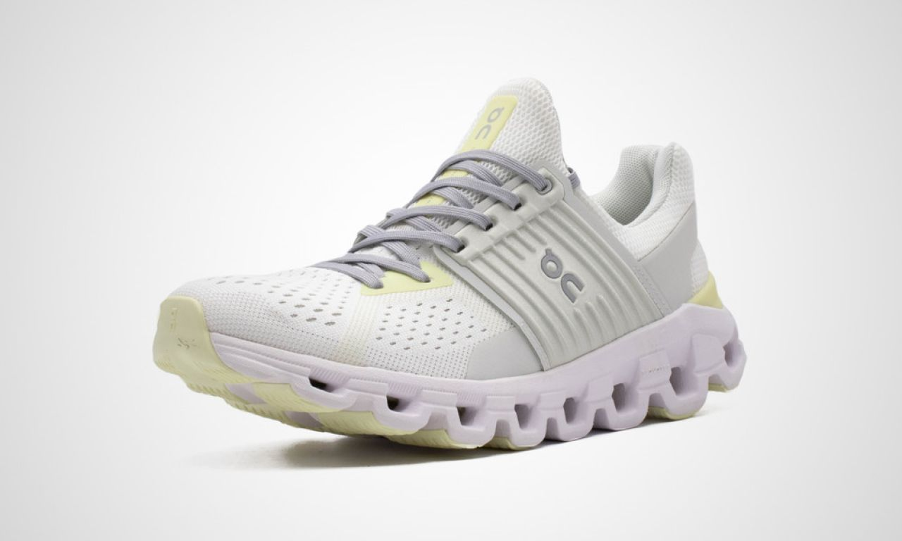 ON RUNNING CLOUDSWIFT WHITE LIMELIGHT Chaussures de running