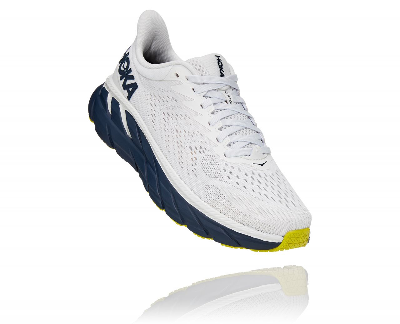 HOKA ONE ONE CLIFTON 7 BLANCHE   Chaussures de running